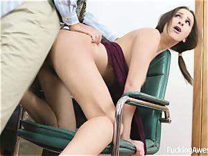 big-boobed Ashley Adams Gets boinked by the schoolteacher