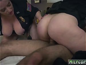 Chad white milf Noise Complaints make messy bitch cops like me humid for humungous dark-hued