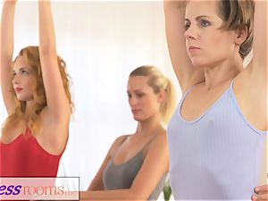 fitness rooms smallish ballet teachers secret 3 way