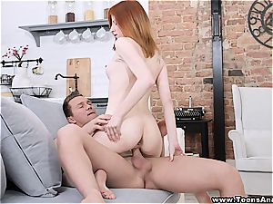 X-Sensual - enjoy juices on her lips