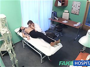 faux clinic steamy tattoo Patient cured with firm trouser snake