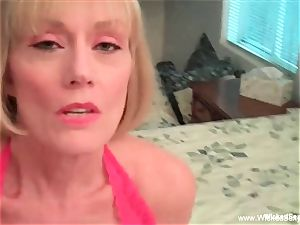 mommy controls Her son's man rod