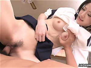 super-cute and cute chinese mega-slut getting screwed real firm
