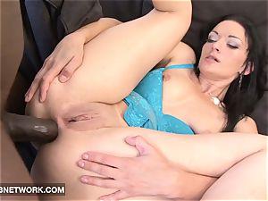 interracial porn Mature milky girl banged by ebony weenie