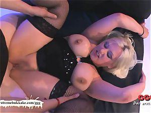 chubby women do it better! - extraordinary bukkake