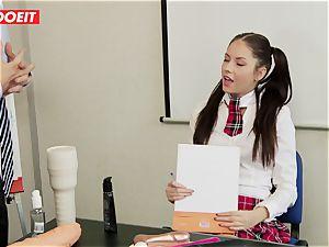 LETSDOEIT - Rebecca Tricks Academy Principal Into lovemaking