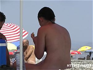 naturist video at the naked beach