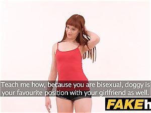 fake Agent internal ejaculation for fresh ginger-haired yankee model