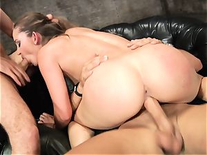 Dani Daniels enjoys getting her raw gash rammed