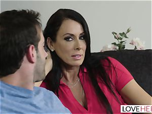 LoveHerFeet - Stepson plumbs His Stepmom On The bed