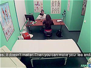Hidden cam hump in the doctors office