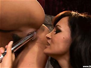Alluring Charley chase gets fucktoy boinked by Lisa Ann