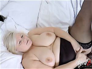 AgedLovE Lacey Starr multiracial hard-core hump