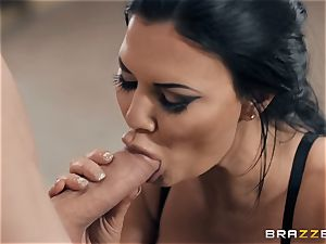 steady stud goes rock hard in Jasmine Jae