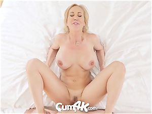 CUM4K greatest internal cumshot drill with Brandi love