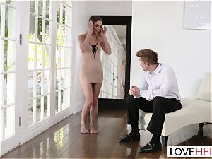 LoveHerFeet - Sydney Cole Gets Her Takes a pounding!