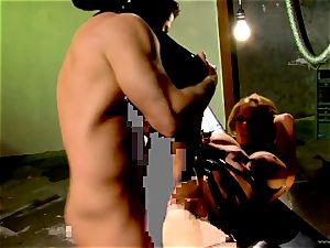 Shyla Stylez takes this rock-hard sausage deep in her taut butt