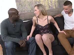 hotwife instructing multiracial rectal hook-up For promiscuous wife