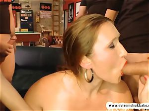 insatiable mother can not Stop gargling hard-ons - extreme mass ejaculation