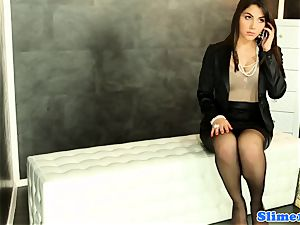 Valentina Nappi gets WAM with bukkake jizz