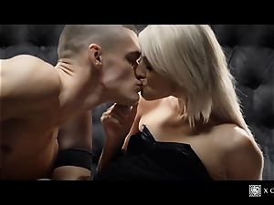 xCHIMERA - erotic hotel room poke with towheaded Katy Rose
