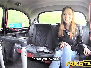 fake cab slim sandy-haired likes harsh orgy