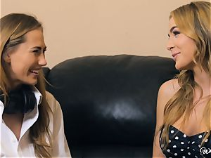 Carter Cruise and Blair Williams love each others warm cunts