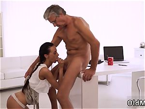 nubile micro-skirt hardcore eventually she s got her manager pink cigar