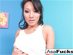 Asa looks sumptuous in this super-hot xxx solo