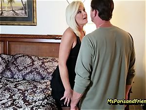 Evan's Anniversary fucky-fucky with Ms Paris Rose