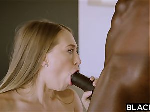 BLACKED Kagney Linn Karter luvs to rim black men
