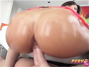warm black-haired Eva Lovia gets drilled by Mike Adriano