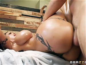 ample butt beans Jade double penetration
