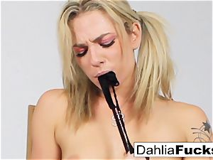 crazy college damsel solo getting off