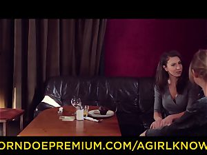 A woman KNOWS - couple friendly g/g romp session