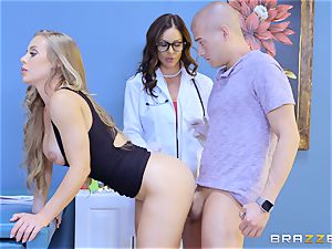 Nicole Aniston and Kendra enthusiasm 3 way