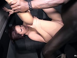 backsides Bus - multiracial bus intercourse with red-hot German stunner