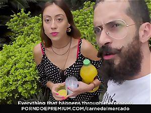 CARNE DEL MERCADO - yummy Colombian fuckbox fucked rock-hard