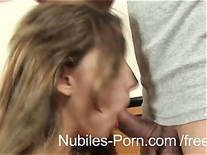 Nubiles pornography - firm smash makes Czech fledgling unload