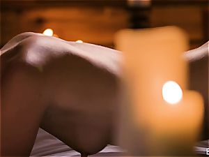 Mona Wales has a romantic enjoy session with her sumptuous man