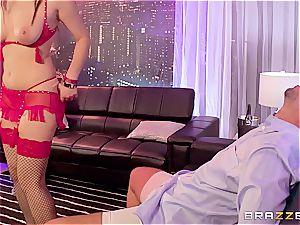 Sly stripper steals a nasty boy