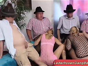 incredible German lederhosen party romp