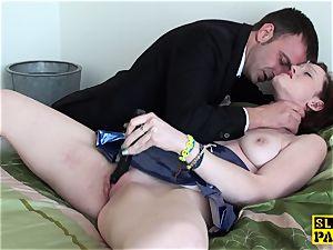 submissive gasped slut frolicking her joy button