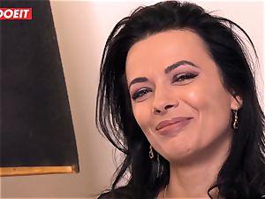 LETSDOEIT - Romanian beauty Creamed By a French boner