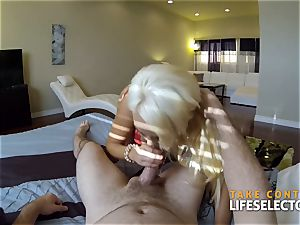 point of view afternoon with buxom beauty Summer Brielle