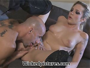Rampant role play for Bailey Blue and a super-fucking-hot stud