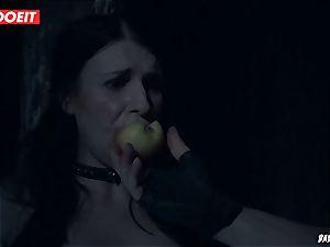 LETSDOEIT - brunette Maid likes bondage & discipline harsh torment
