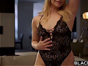 Mia Malkova gets her ample milky bootie poked by dark-hued stick