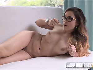 outstanding Mira cheating Agrees to her first porn Shoot
