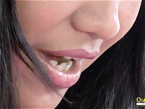 OldNannY Lacey star girly-girl Theme splendid flick